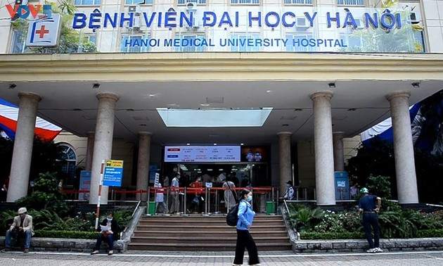 ภาพลักษณ์ของเจื่องซาในโรงพยาบาลมหาวิทยาลัยการแพทย์ฮานอย