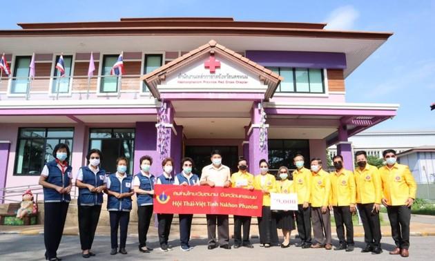 สมาคมไทย-เวียดนามจังหวัดนครพนมสมทบเงินกว่า 1 แสนบาทเพื่อสนับสนุนการต้านภัยโควิด-19