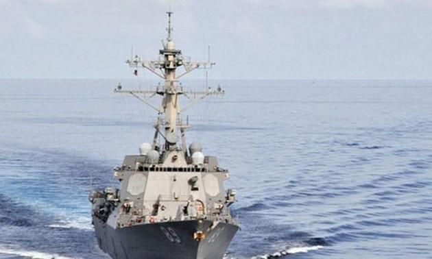 สหรัฐคัดค้านคำเรียกร้องที่ไม่ชอบด้วยกฎหมายของจีนในทะเลตะวันออก
