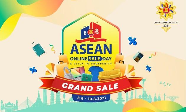 สถานประกอบการ 300 แห่งเข้าร่วมงาน ASEAN Online Sale Day 2021