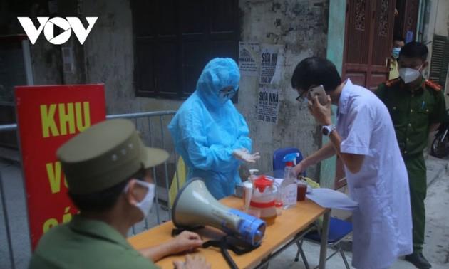 สถานการณ์การแพร่ระบาดของโรคโควิด -19 ในเวียดนามในวันที่ 5 สิงหาคม