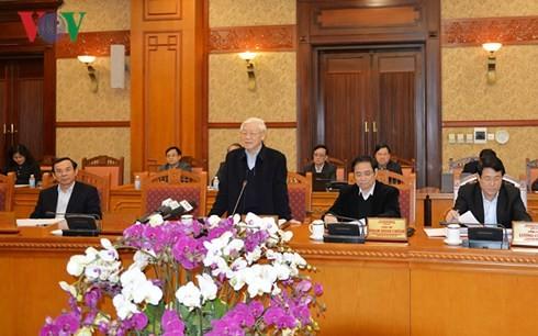 Party Secretariat reviews activities of Lunar New Year 2018
