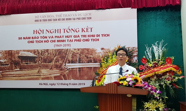 Seminar on protection of President Ho Chi Minh relic site