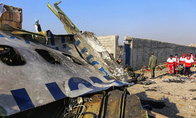 Iran confirms two missiles shot at Ukraine airliner
