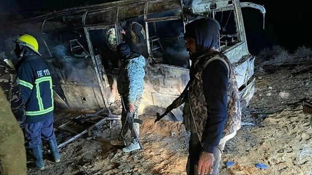 Jihadist attack kills 30 soldiers in east Syria: monitor
