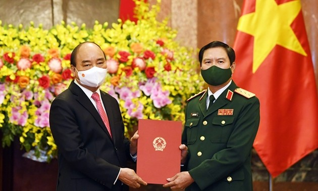 New Chief of General Staff of Vietnam People's Army appointed