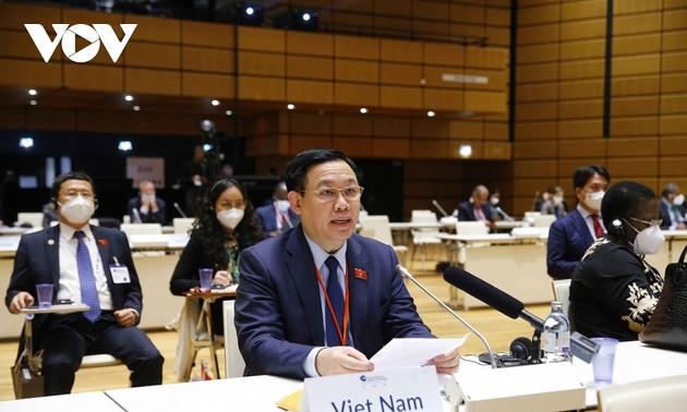 Top legislator's European tour promotes Vietnam's parliamentary diplomacy