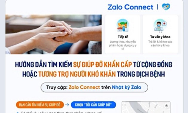 Zalo Connect connects love