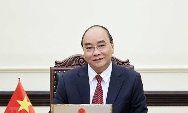 President asks for continued support from US in pandemic fight
