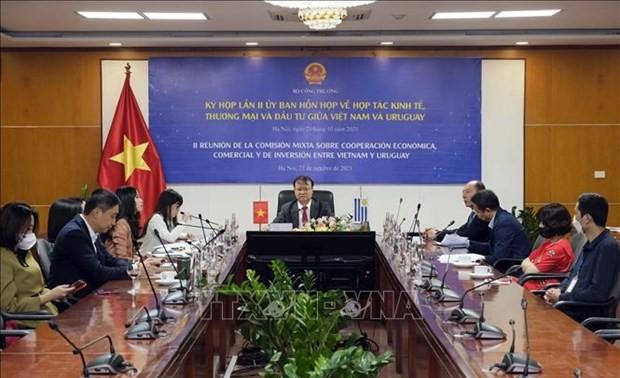 Vietnam, Uruguay look to expand economic cooperation