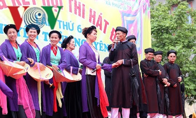 Dum singing enthralls visitors to Hai Phong's spring festivals