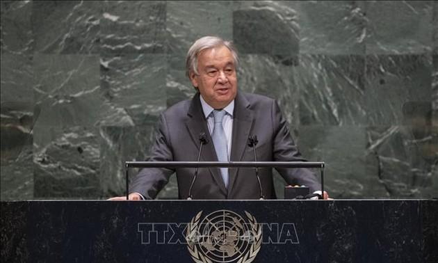 UN chief calls for end to political deadlock in Lebanon