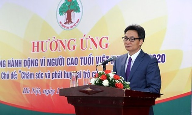 More to be done to care for Vietnamese elderly: Deputy PM