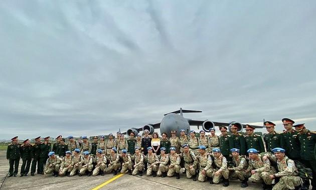 Vietnamese soldiers honored in South Sudan