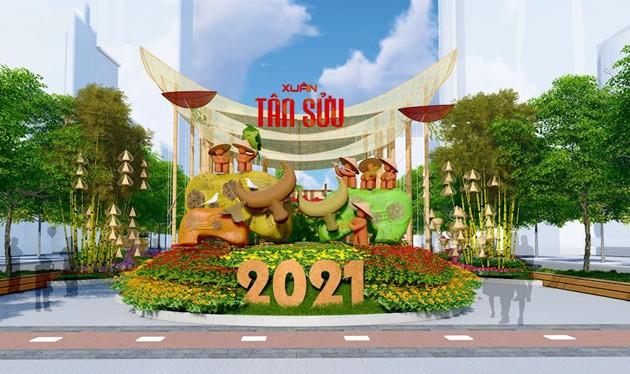 Nguyen Hue flower street to open on February 9