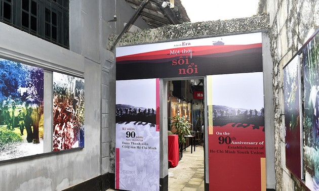Hanoi's display features youth's contributions to national construction and defense