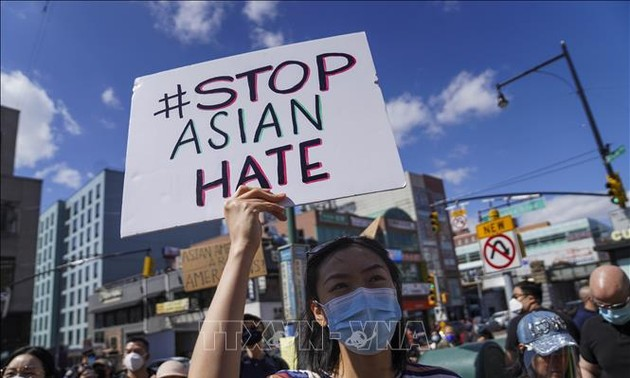 US demonstrators rally nationwide against anti-Asian violence