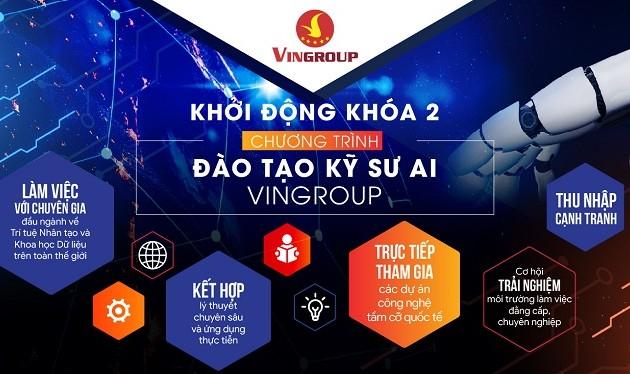 Vingroup launches AI engineers' training program