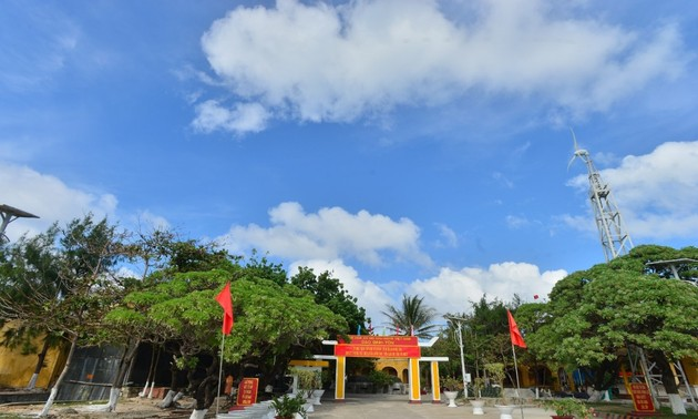 Remarkable changes in Truong Sa island district