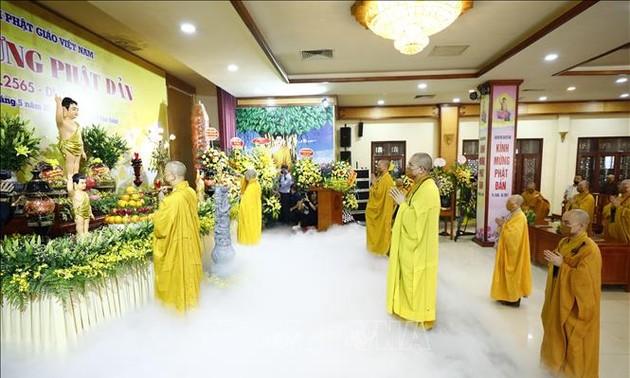 Celebrations of Buddha's birthday held online