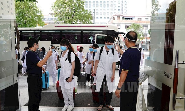 Medical equipment destined for HCMC to treat COVID-19 patients
