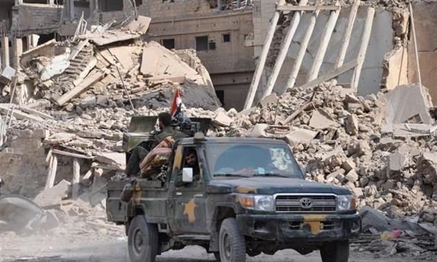 Fuerzas respaldadas por Estados Unidos atacan el este de Siria