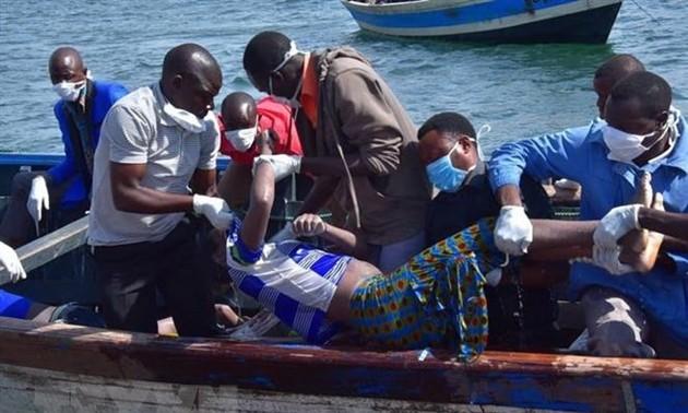 Cifra de muertos en accidente de ferri en Tanzania llega a más de 200