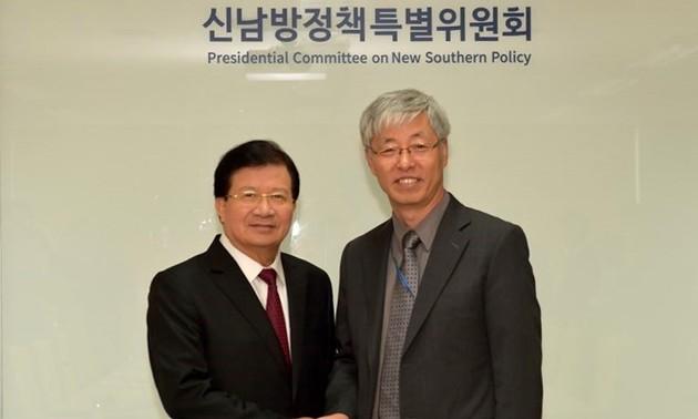 Vietnam busca impulsar relaciones con Corea del Sur