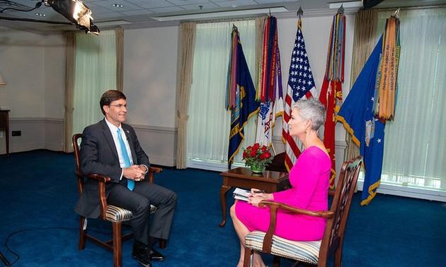 Estados Unidos preocupado por las violaciones chinas del orden internacional en el Indo-Pacífico