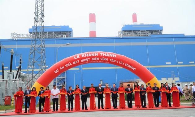 Inauguran en Binh Thuan la central térmica Vinh Tan 4