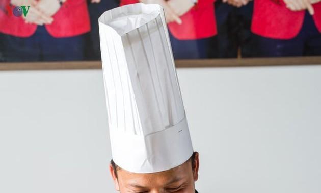 Cocinero vietnamita deseoso de extender los valores gastronómicos nacionales en Beijing