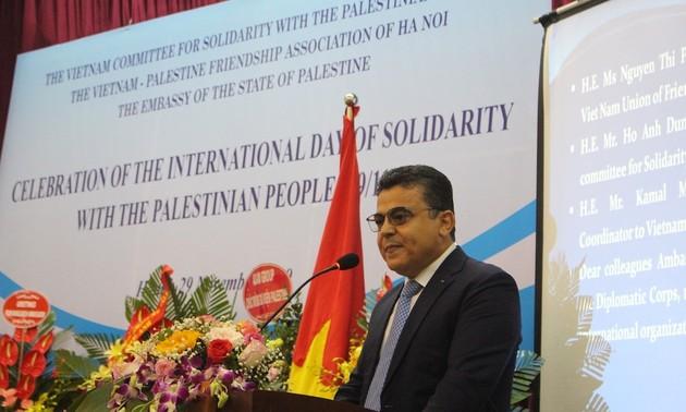 Celebran en Hanói Día Internacional de Solidaridad con el Pueblo Palestino