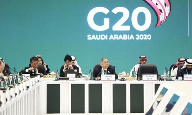 G20 actuará para limitar impactos del Covid-19 en la economía mundial