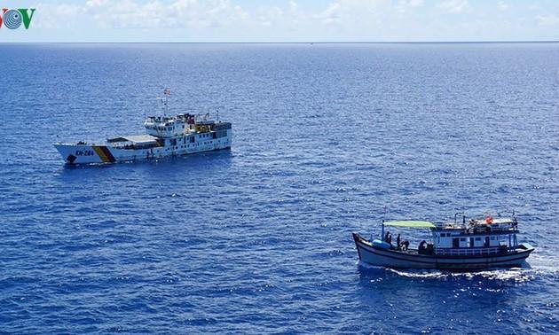 Pescadores de Binh Thuan determinados a aferrarse a aguas nacionales