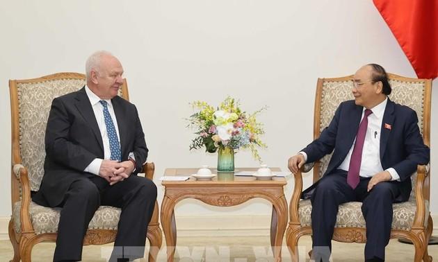 Vietnam y Rusia por elevar el intercambio comercial bilateral