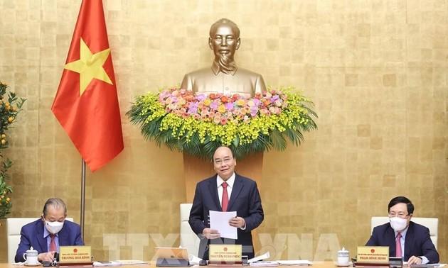 Vietnam decidido a fomentar el desarrollo económico y reforzar el liderazgo del Partido