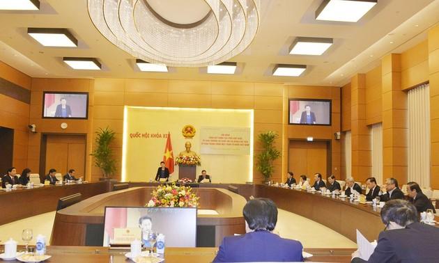 Por una mayor cooperación entre el Parlamento y el Frente de la Patria para el éxito de las elecciones