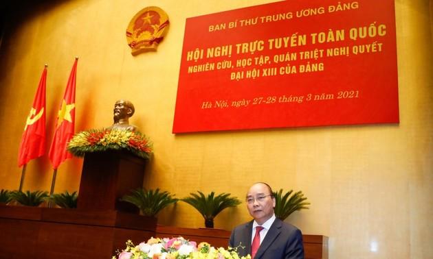 Premier vietnamita aspira a poner a su país en segundo lugar de la Asean en tamaño de economía