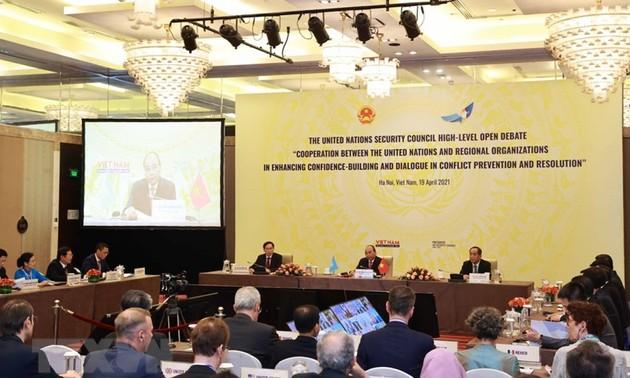 Llaman a la cooperación y el diálogo para alcanzar paz, estabilidad y prosperidad