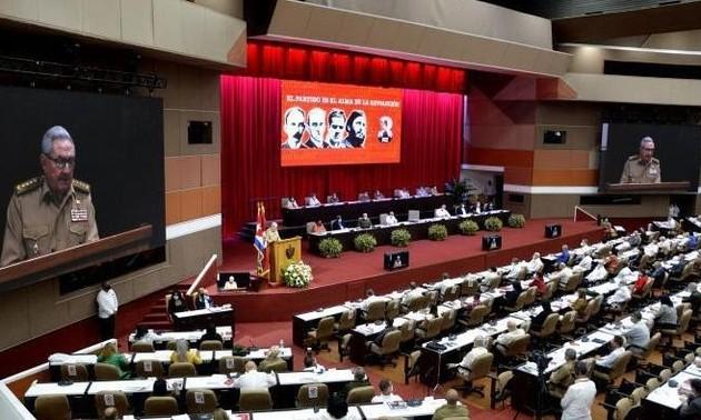 Finaliza el VIII Congreso del Partido Comunista de Cuba