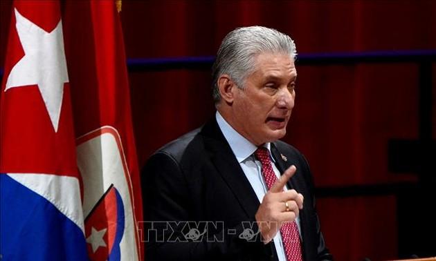 Dirigentes mundiales felicitan al nuevo líder del Partido Comunista de Cuba