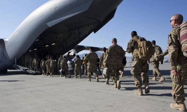 Disturbios en Afganistán después de la retirada de Estados Unidos y sus aliados