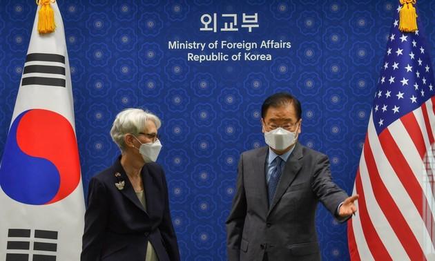 Estados Unidos busca promover conversaciones con Corea del Norte