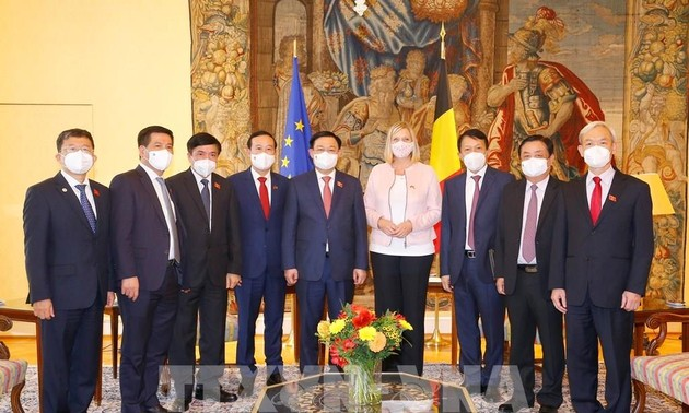 Prensa belga aprecia gira del presidente del Parlamento vietnamita por la Unión Europea