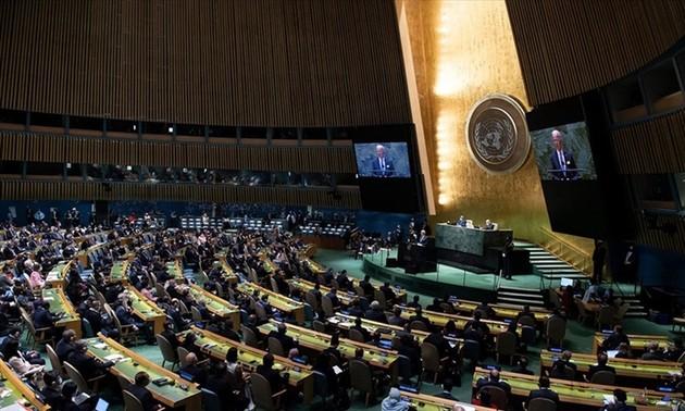 El presidente de Vietnam asiste a la inauguración del debate de la Asamblea General de ONU