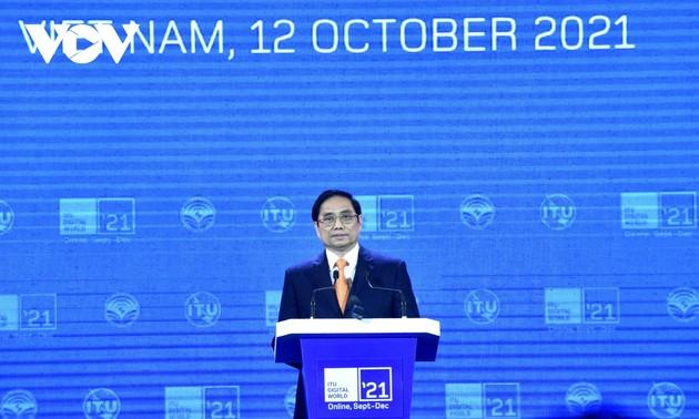 Premier vietnamita interviene en la ceremonia de apertura de Mundo Digital 2021