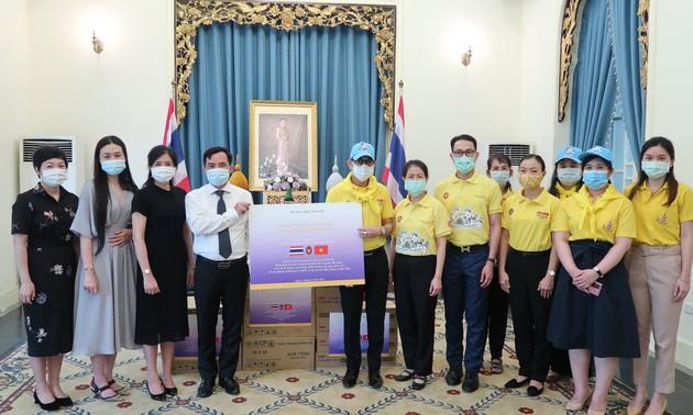 สถานเอกอัครราชทูตไทย ณ กรุงฮานอยช่วยเหลือประชาชนเวียดนามที่ได้รับผลกระทบจากโควิด-19