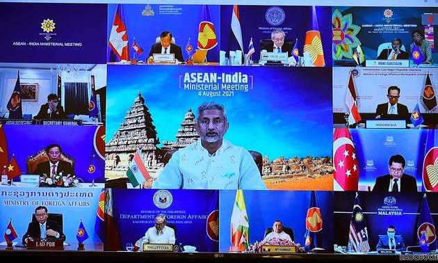 อาเซียน-อินเดียสนับสนุนกันในการรับมือโควิด-19 และส่งเสริมการฟื้นตัว