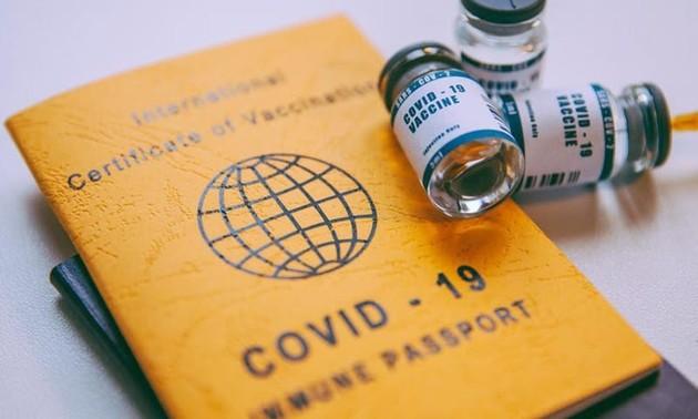 """การรับรอง """"วัคซีนพาสปอร์ต"""" ระหว่างเวียดนามกับประเทศต่าง ๆ"""