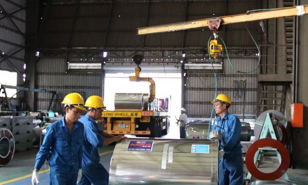 Industrial production grows in 2014
